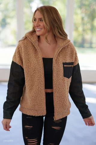 Cascade Cropped Jacket