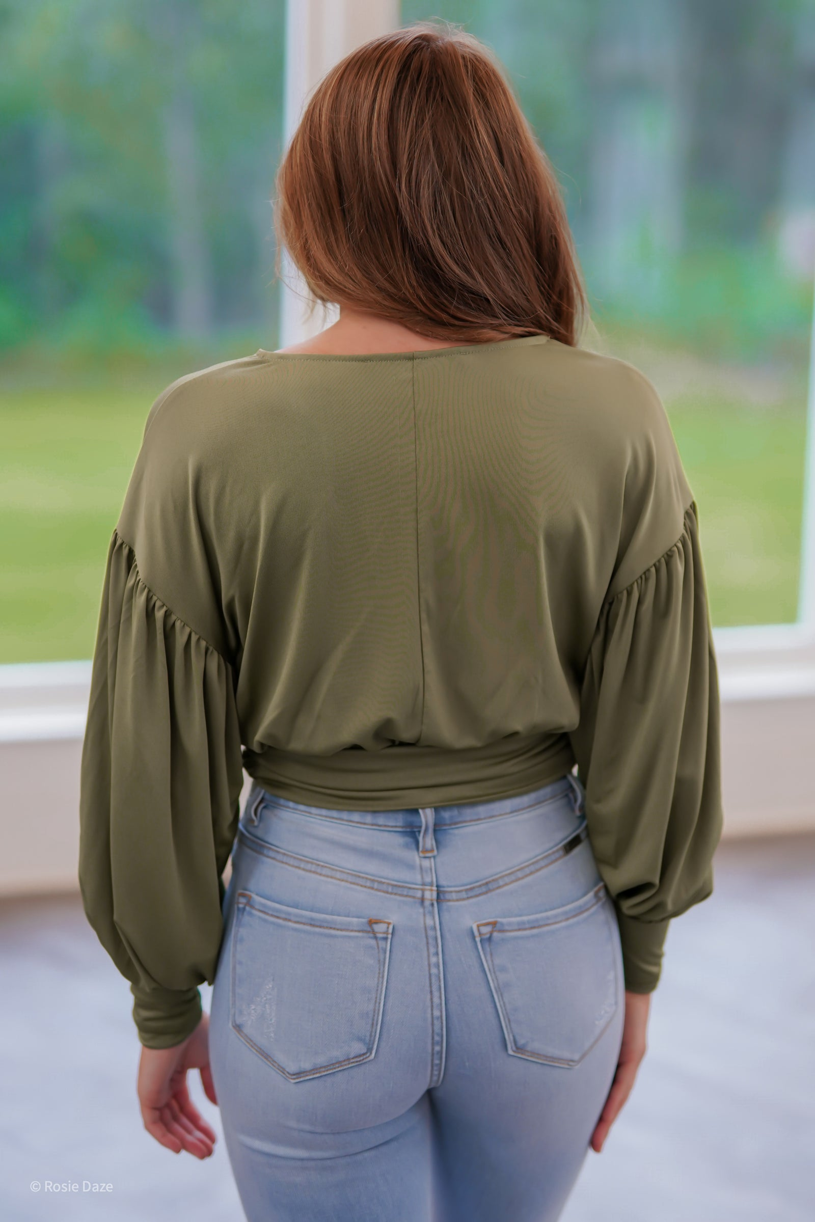 My Type Top - Olive