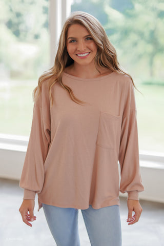 Basic Babe Long Sleeve - Ivory