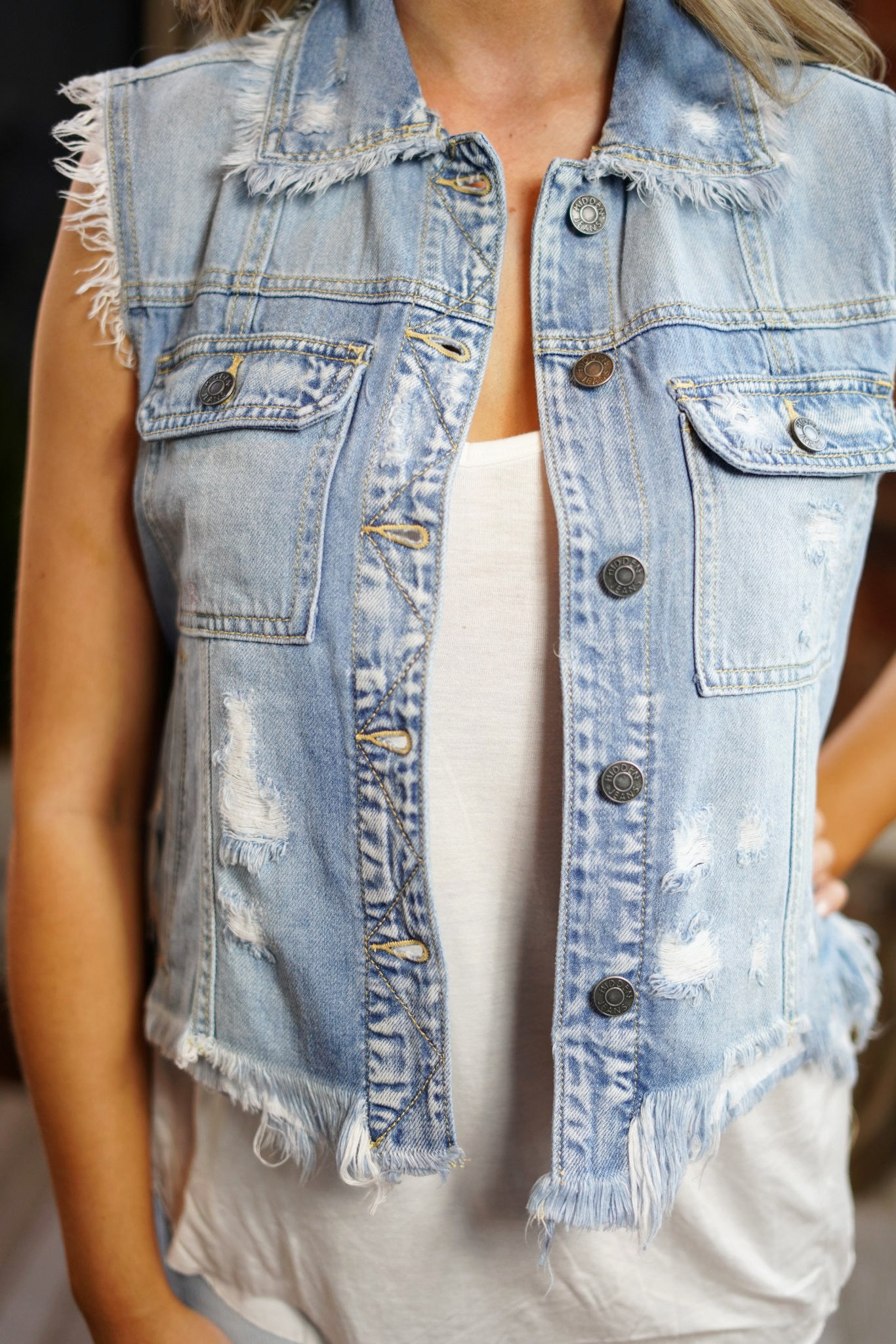 Dare to Denim Vest