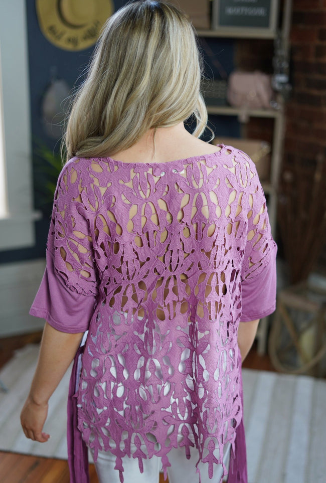 Mauve in the Maldives Top