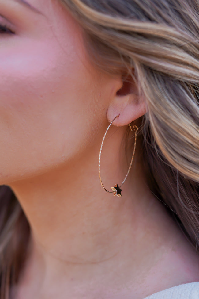 Twinkle Star Earrings - Gold