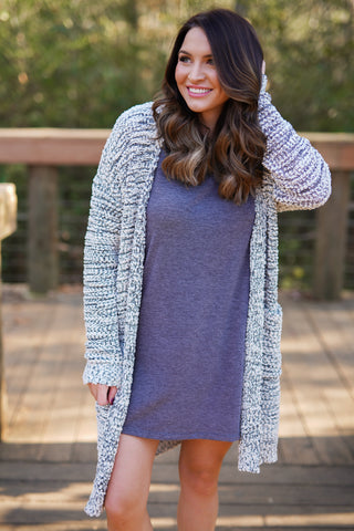 Apple Weather Cardigan
