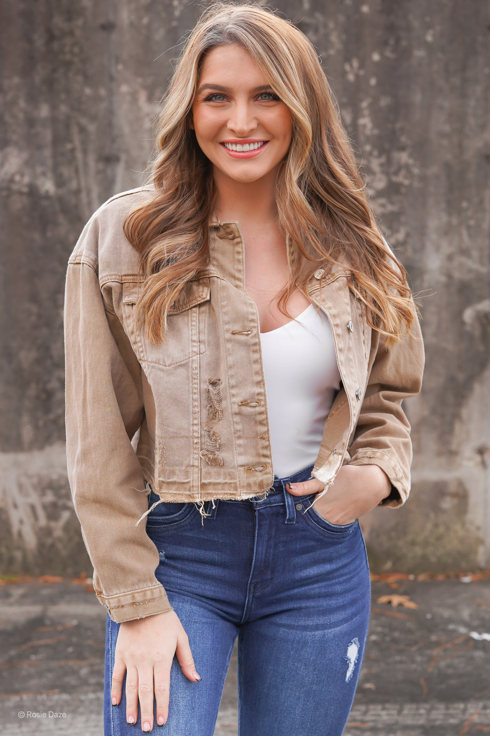 Smokey Mountain Crop Jacket
