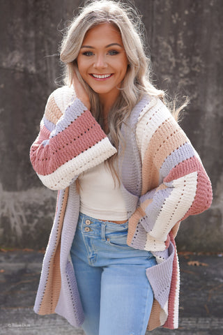 A Walk On The Beach Cardigan