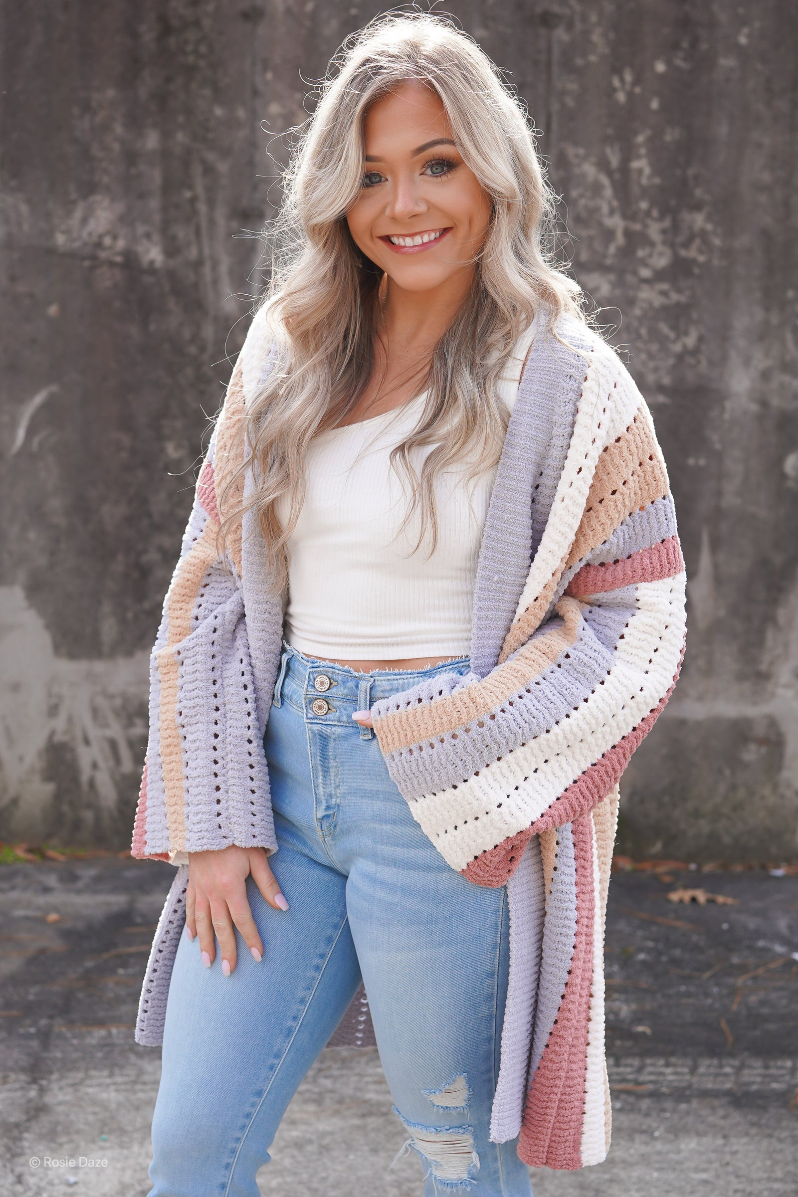 Sterling Striped Cardigan