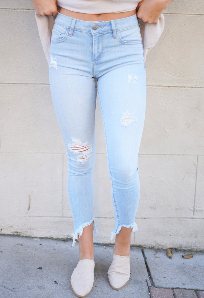 Amelia Distressed Skinnies
