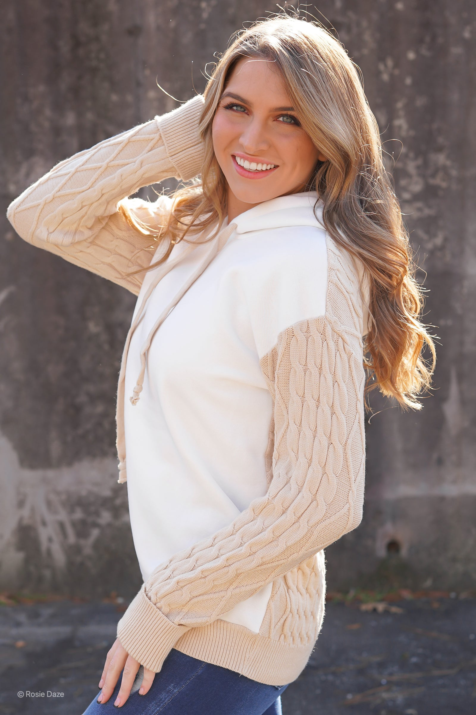 Neutral Knit Pullover