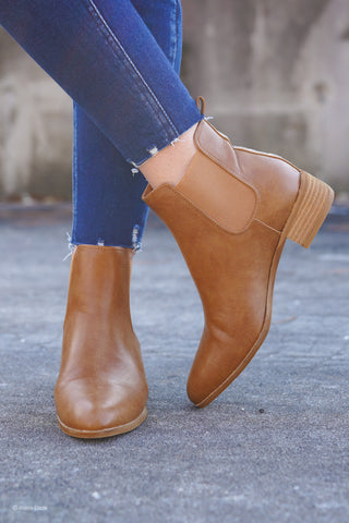 Frisco Booties - Taupe