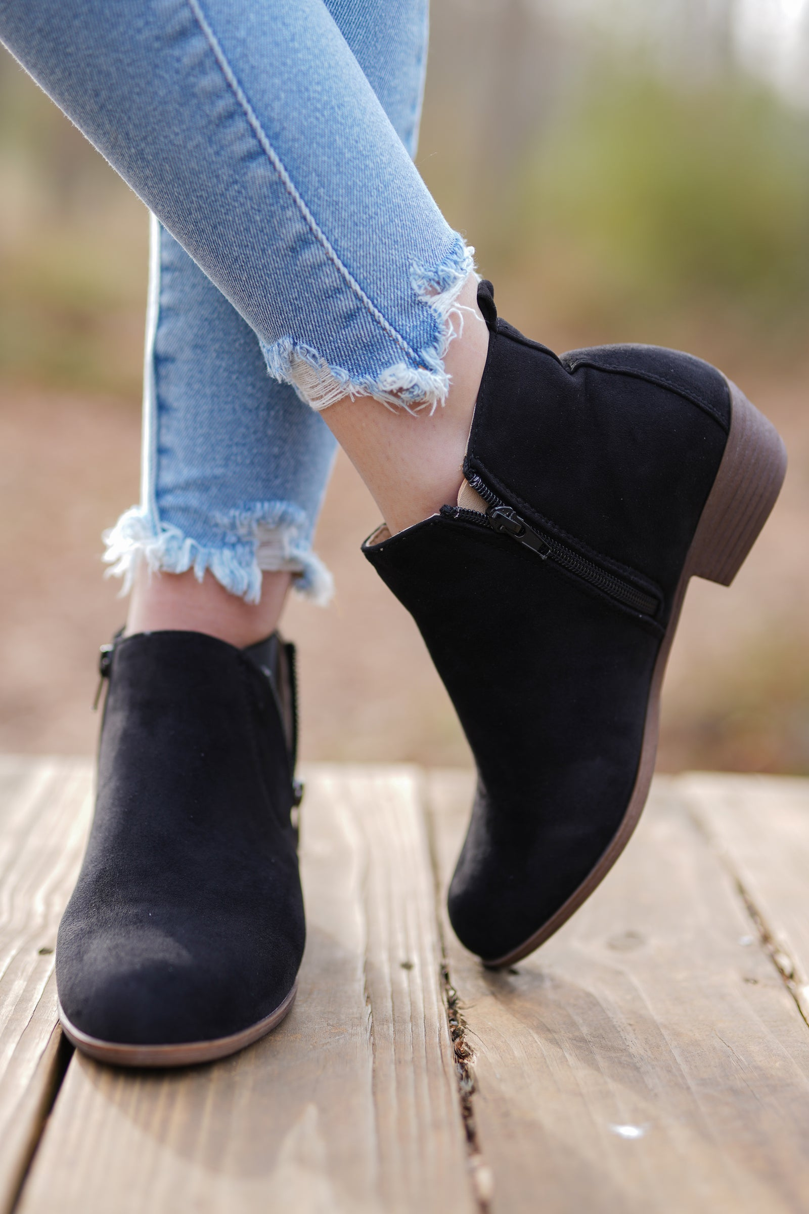 Frisco Booties - Black