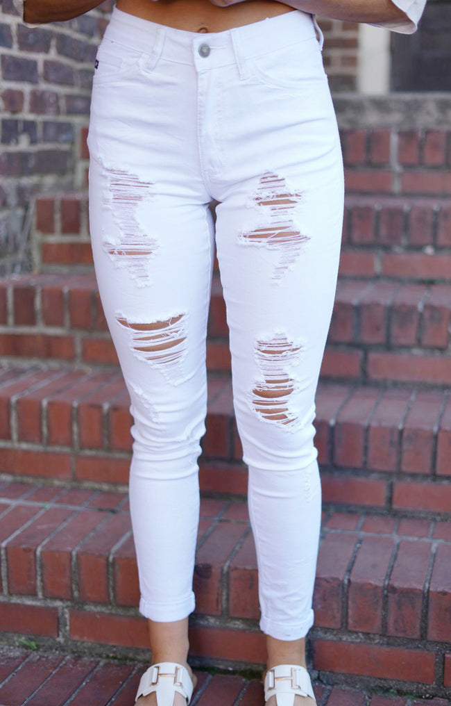 Spice It Up Distressed White Kan Cans