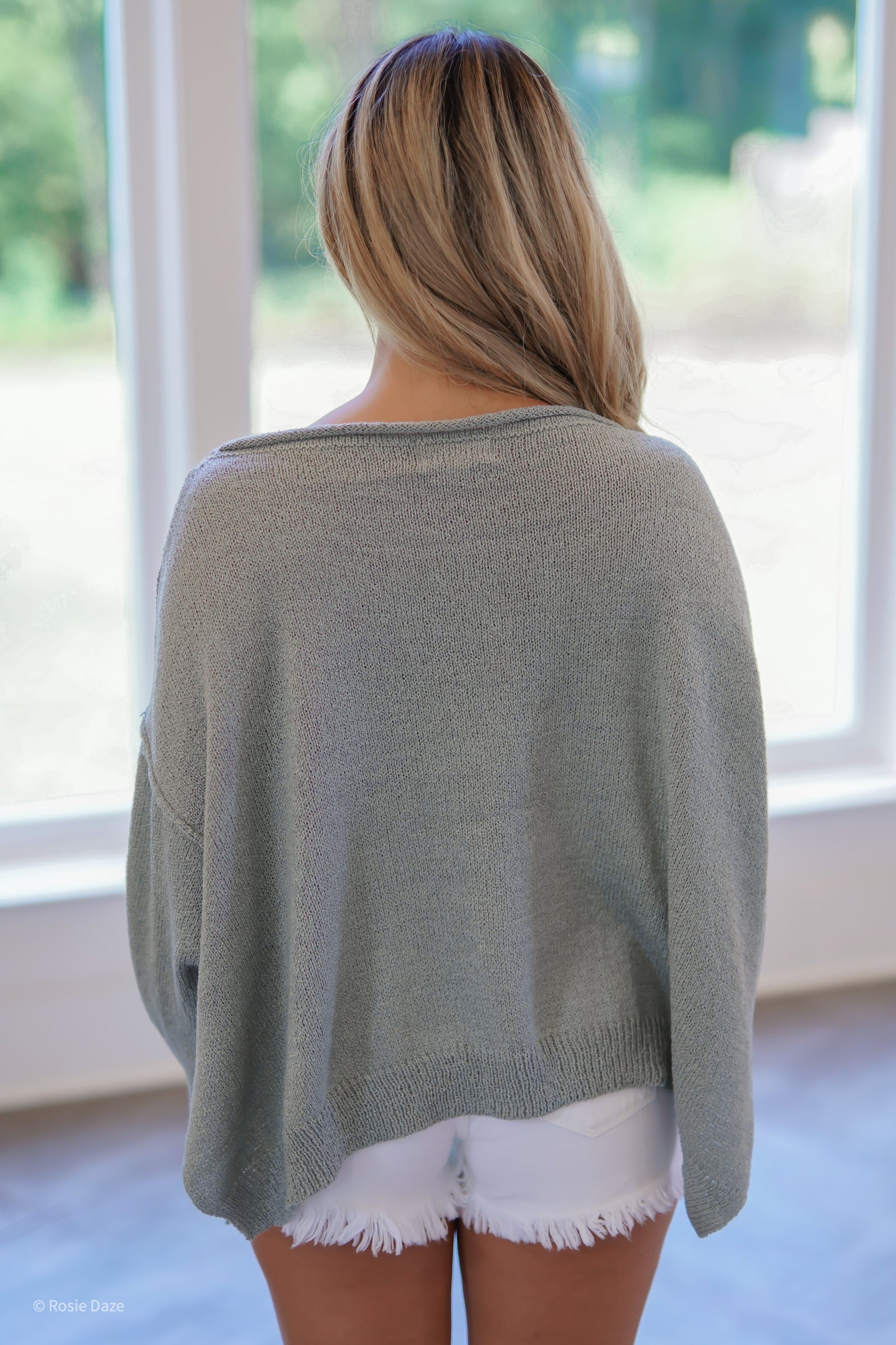 Find a Way Sweater - Sage