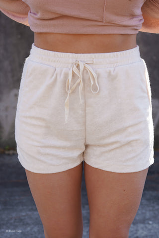 Haley Denim Shorts - Medium Wash