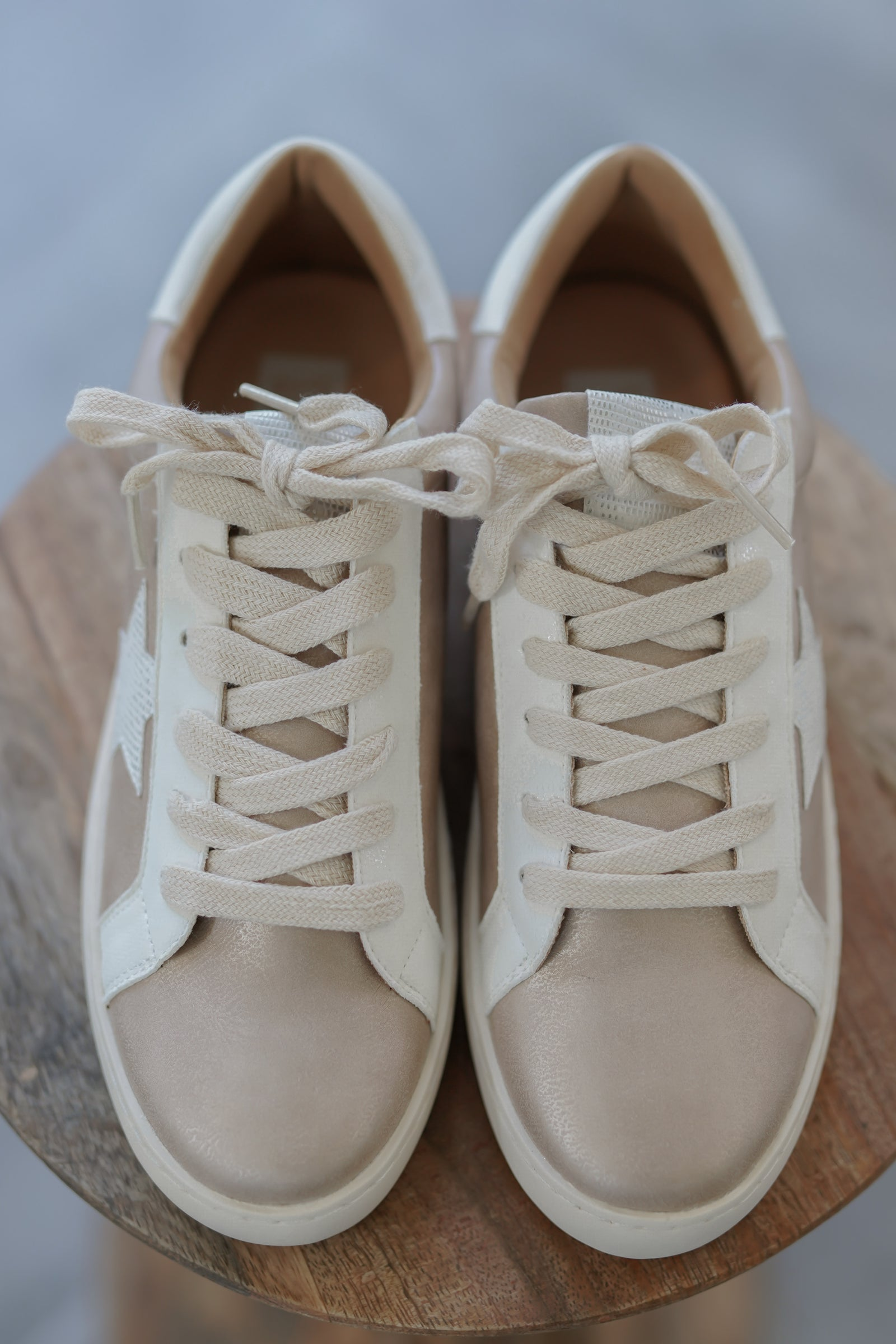 Marcie Sneakers - Rose Gold