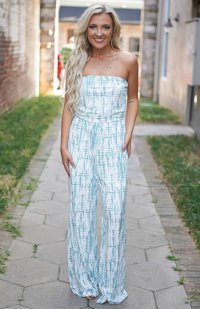 That's So 70s Jumpsuit - Mint