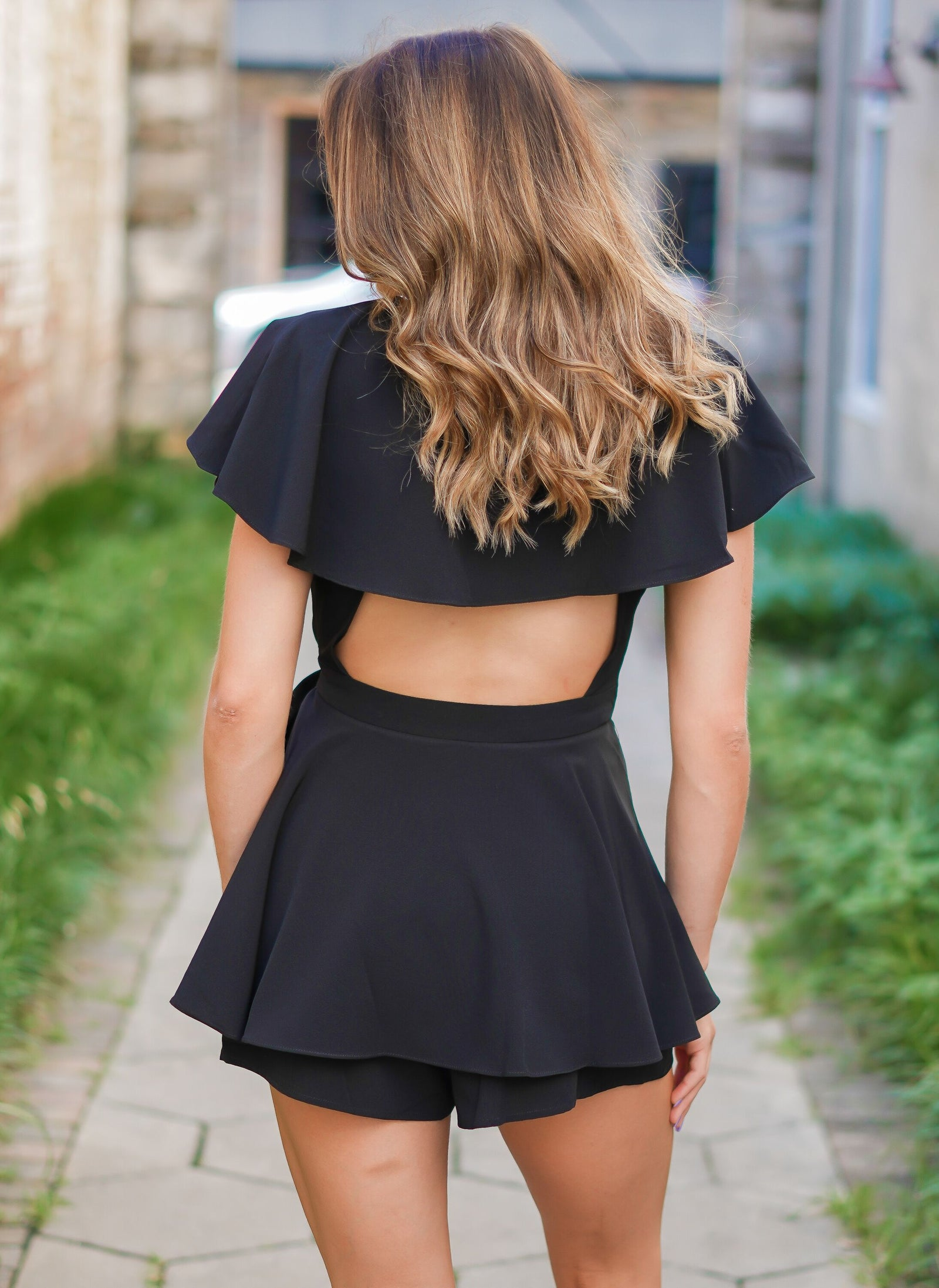One Dance Romper - Black