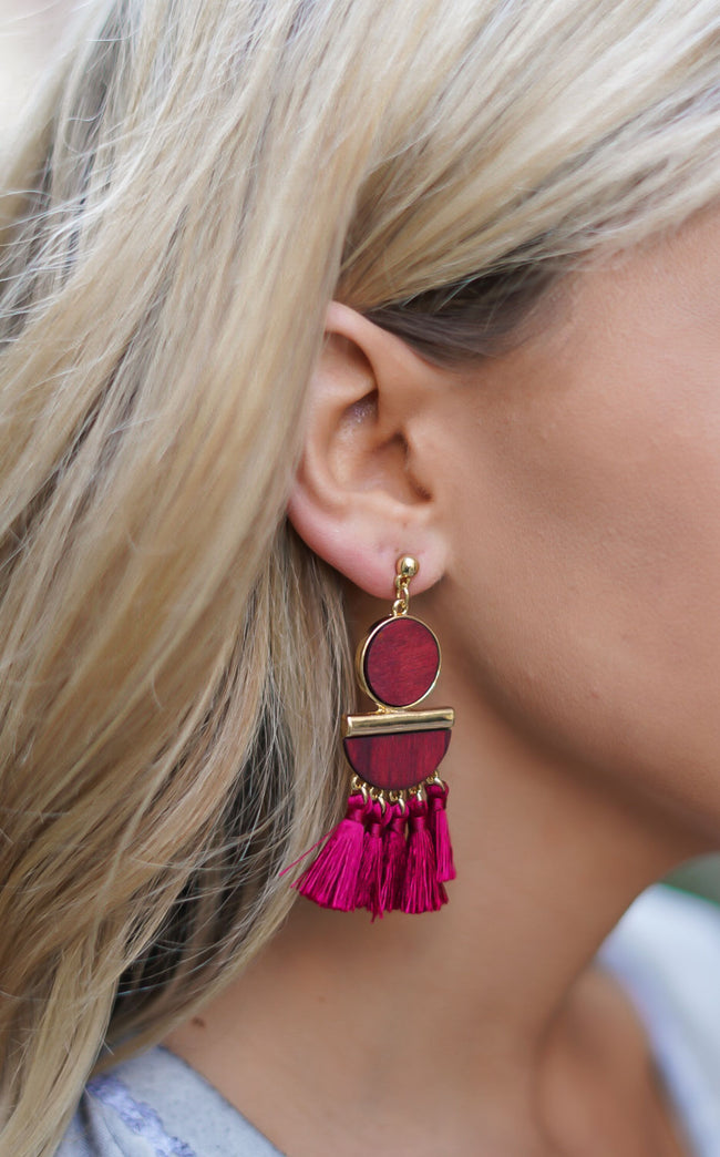 Saratoga Fringe Earrings