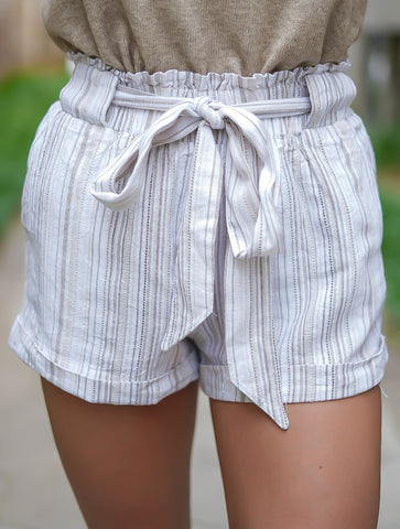 Fable Striped Kan Can Shorts