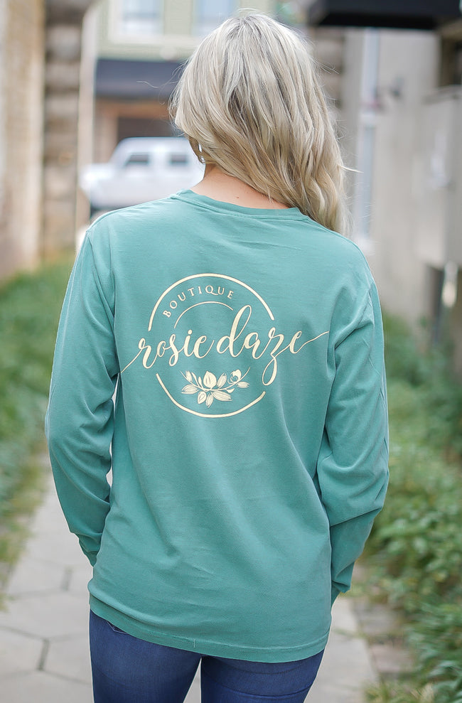 Rosie Daze Logo Tee - Light Green