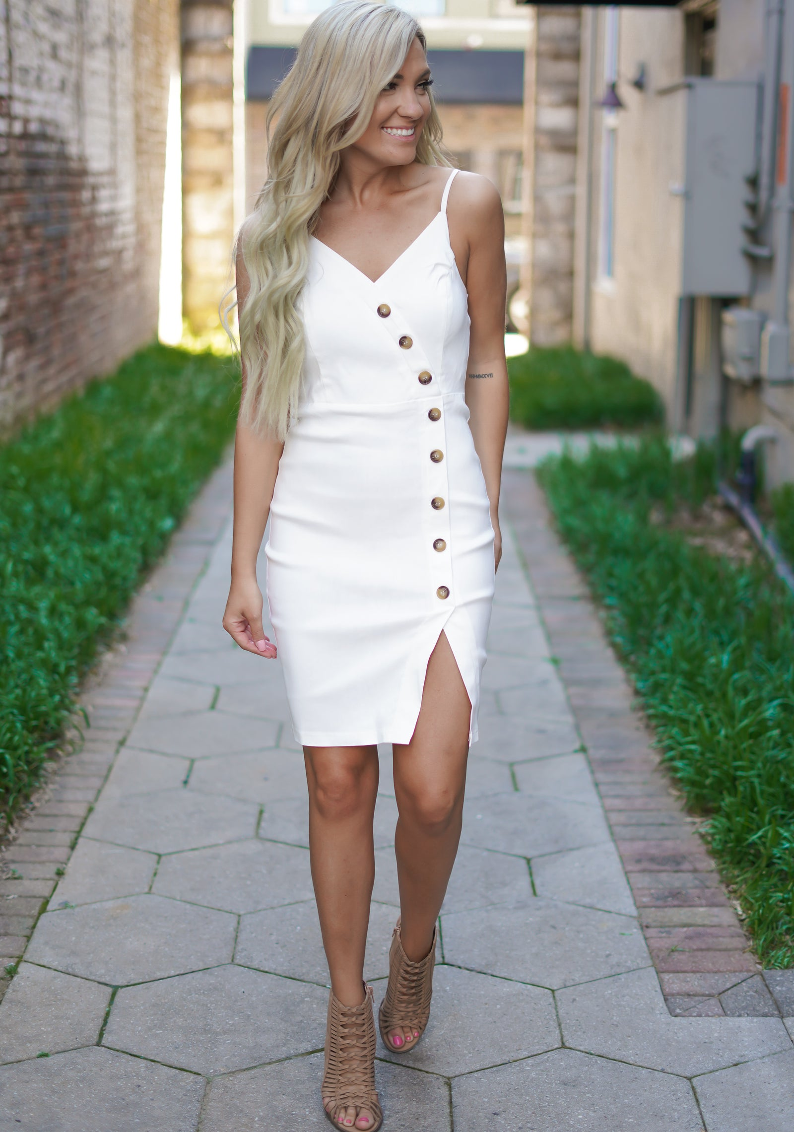 Coconut Rum Dress