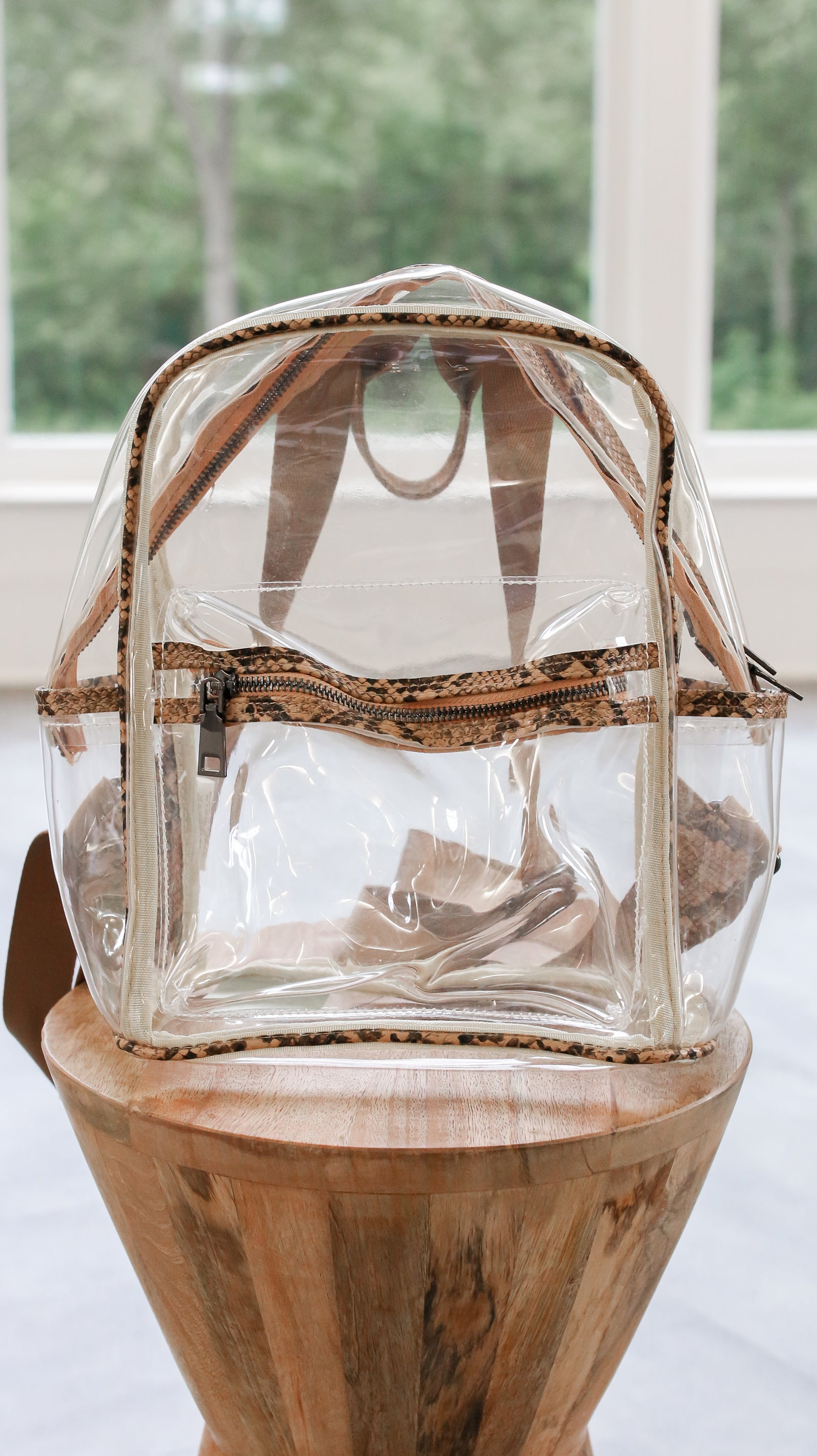 See Right Through Me Backpack