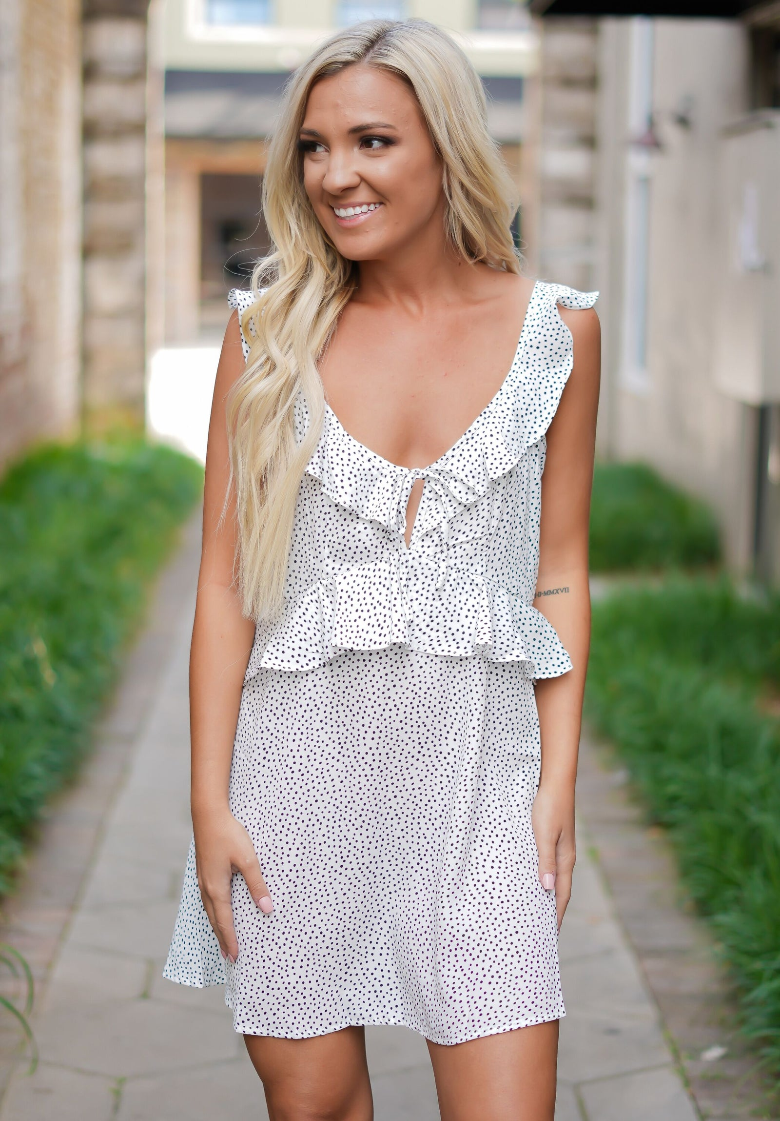 Adore You Polka Dot Dress