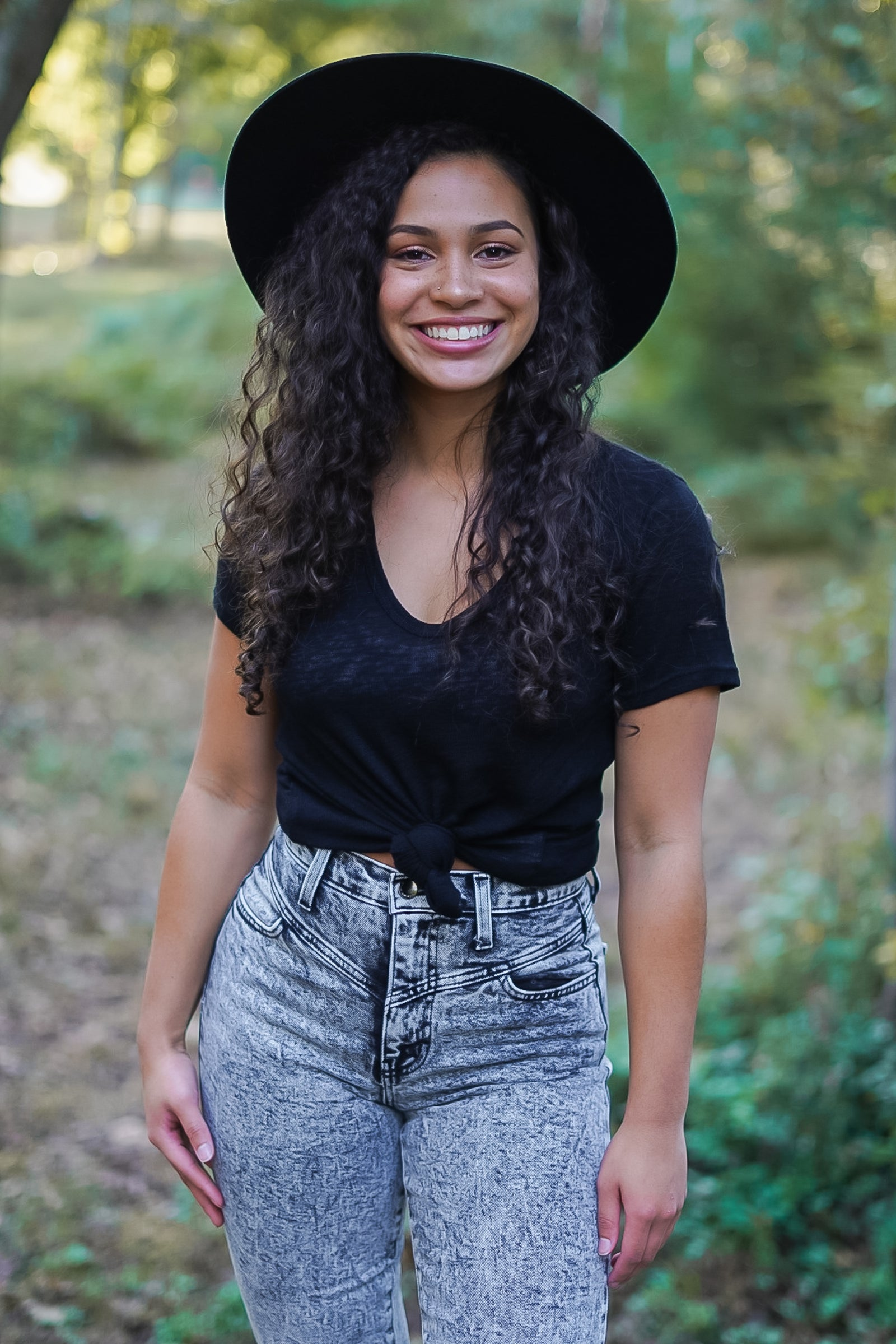 Indy Hat- Black