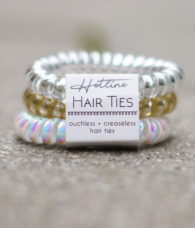 Got Your Back Hair Ties - Bridal Set