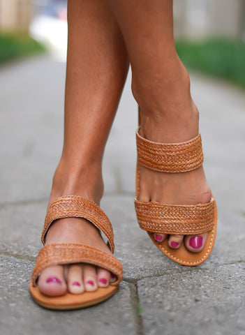 Upeat Sandals - Tan