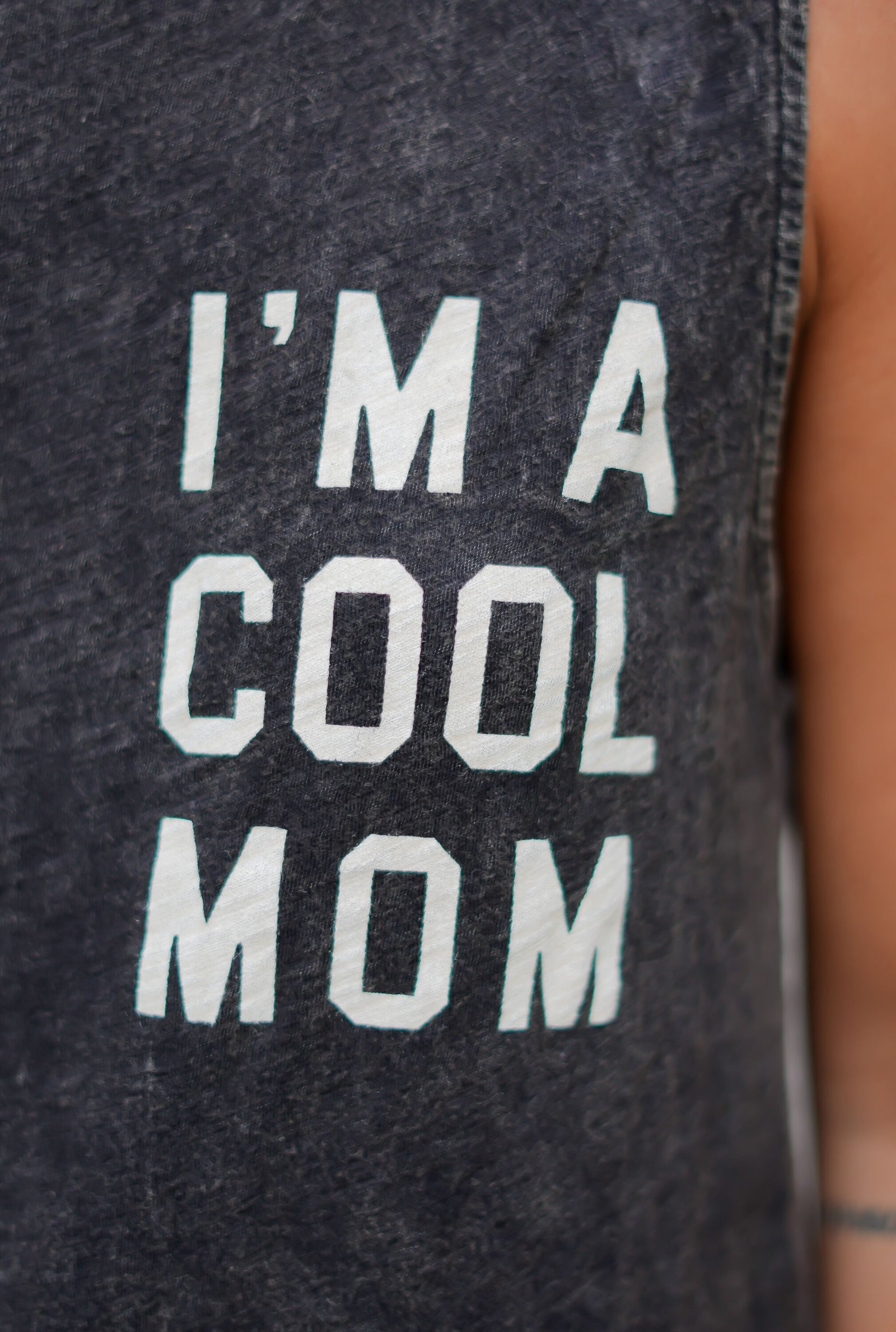 I'm a Cool Mom Tank - Black