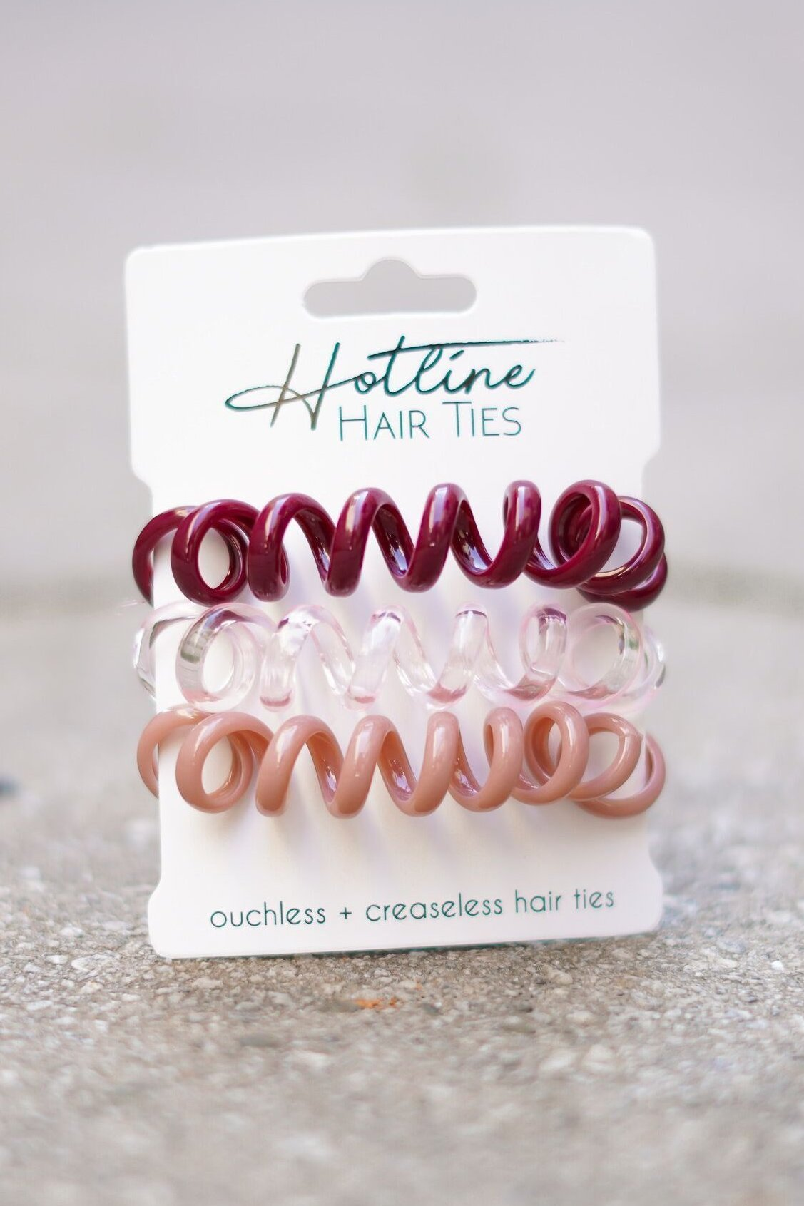 Got Your Back Hair Ties - Cupcake XL Set