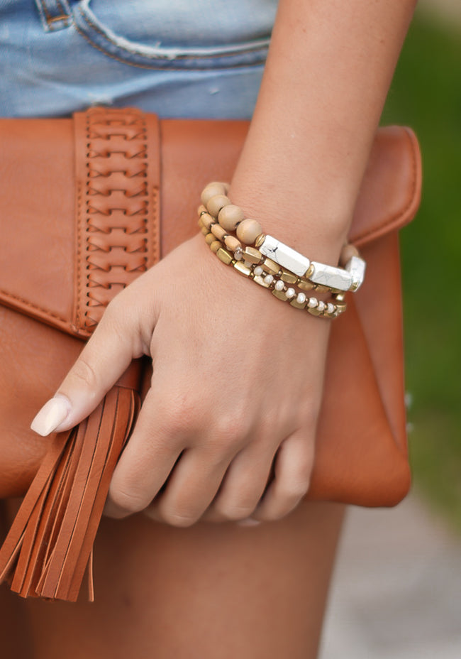 Bondi Beach Bracelets - Tan