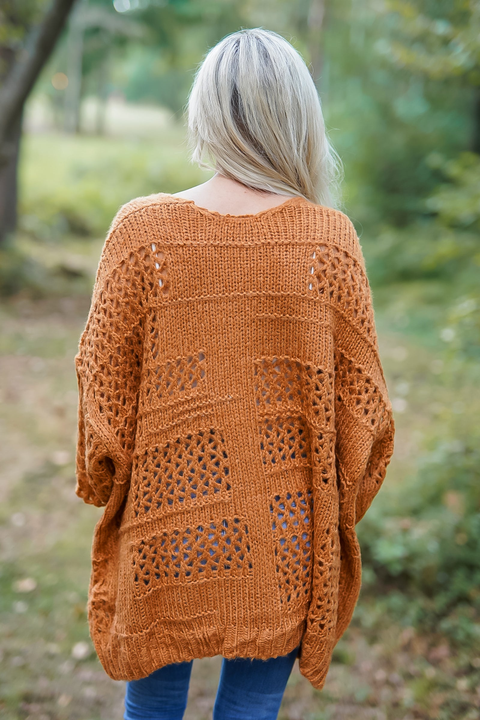 Life in the Mountains Cardigan - Caramel