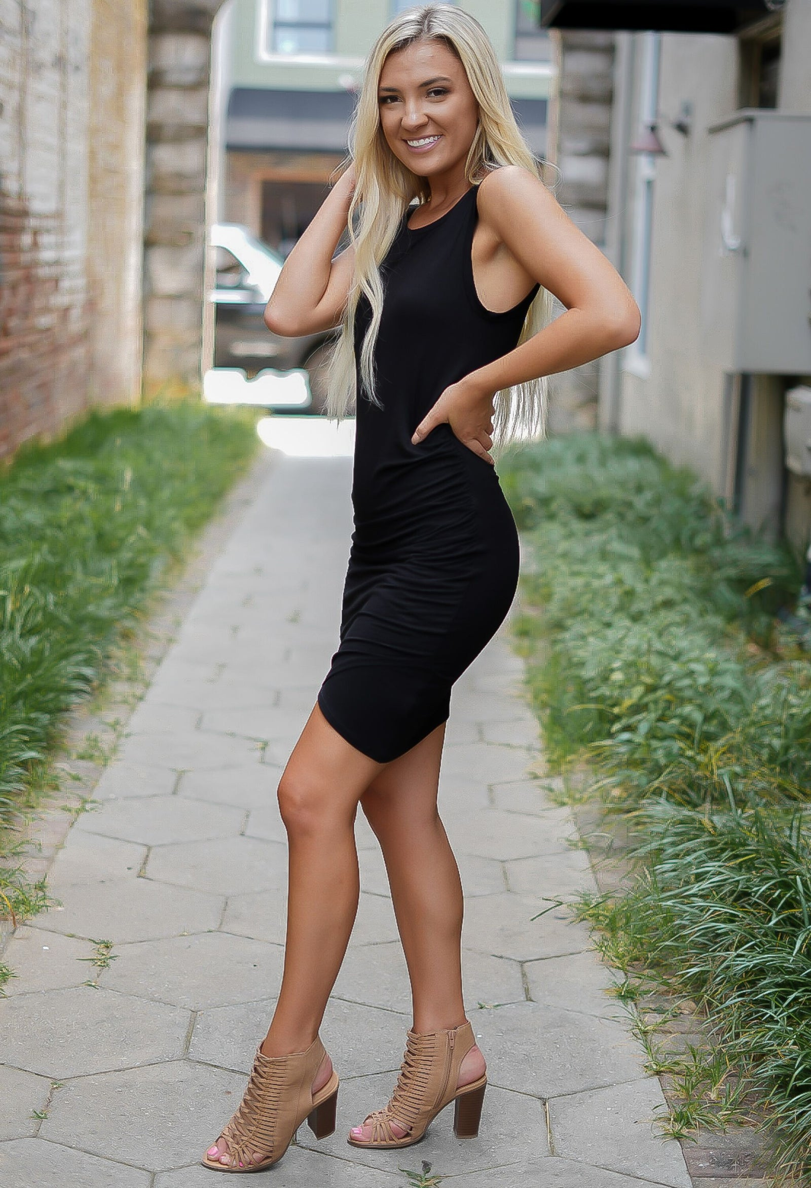 Little Number Dress - Black