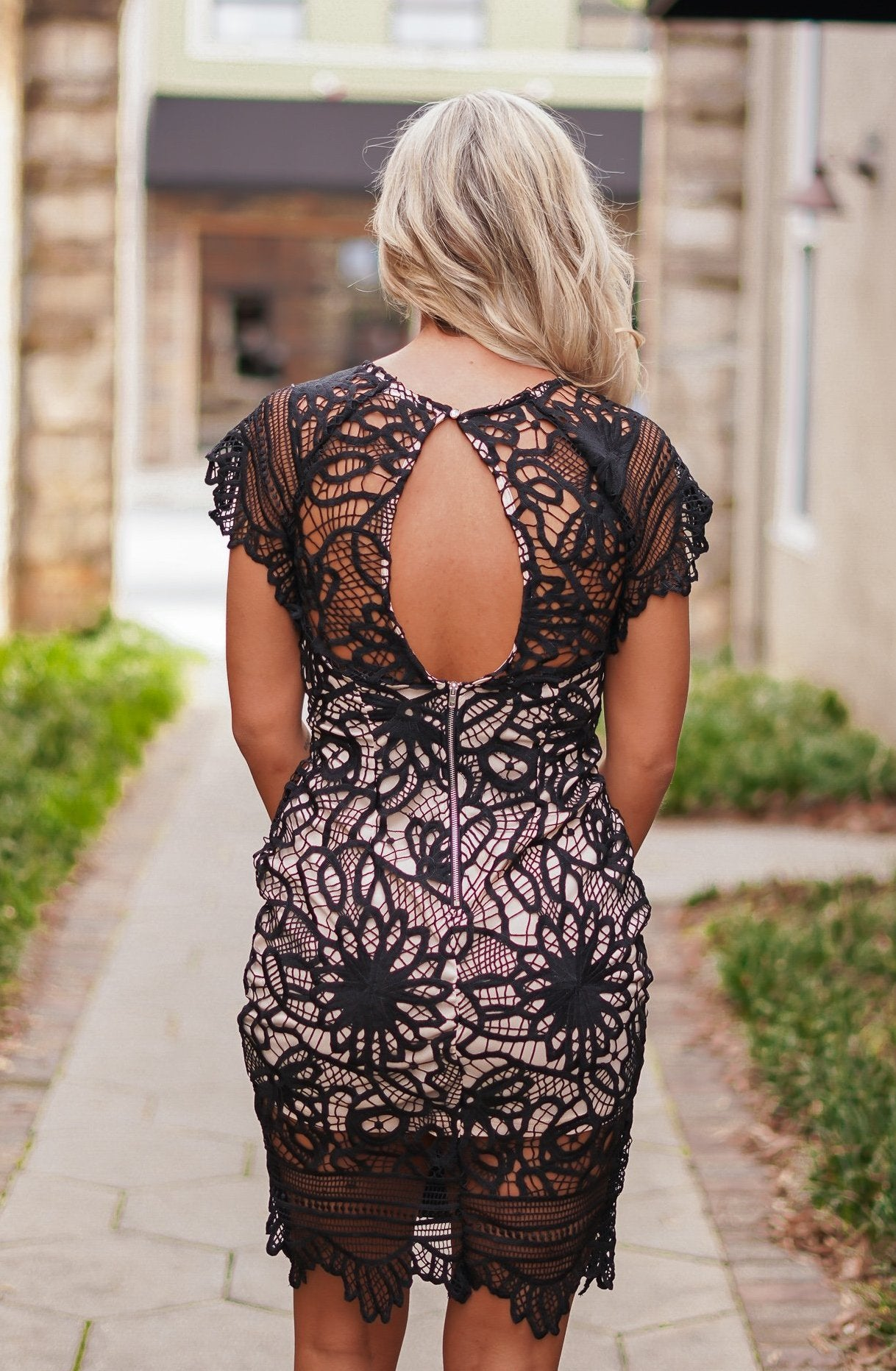 Fancy Seeing You Lace Dress