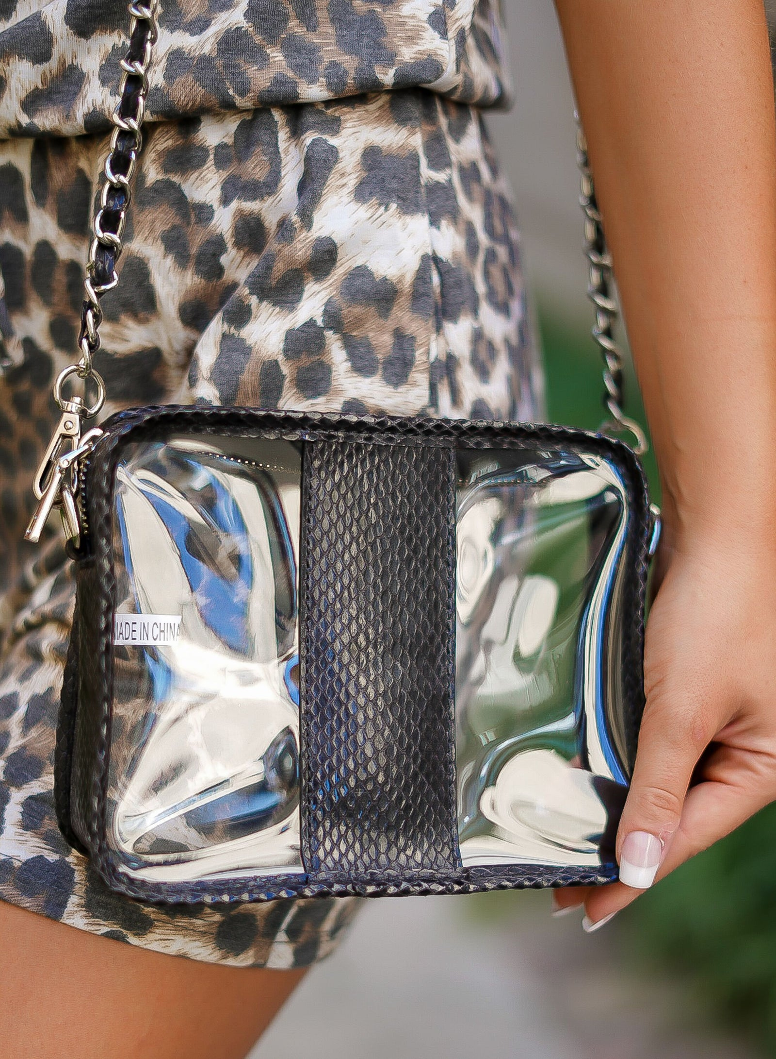 Mamba Clear Bag - Black