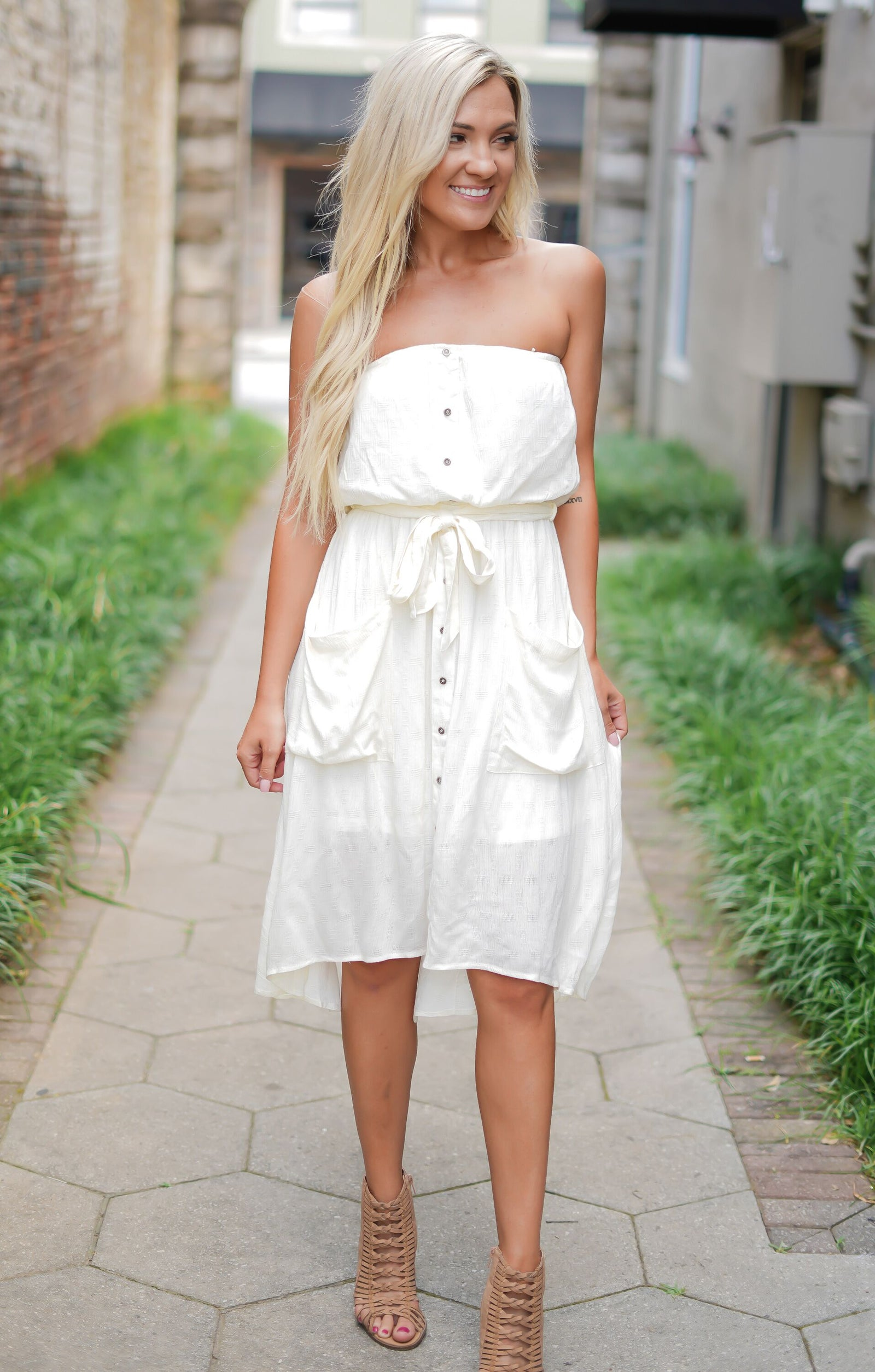 Vanilla Swirl Dress