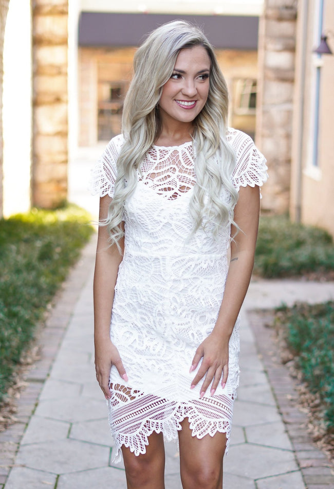Love You Lace Dress