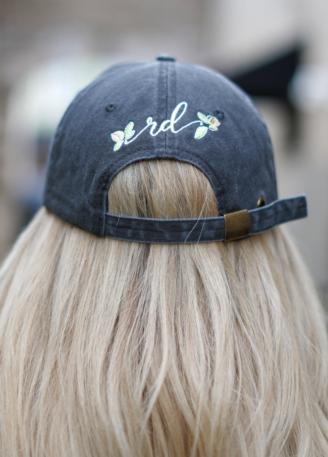 Rosie Daze Logo Hat - Black