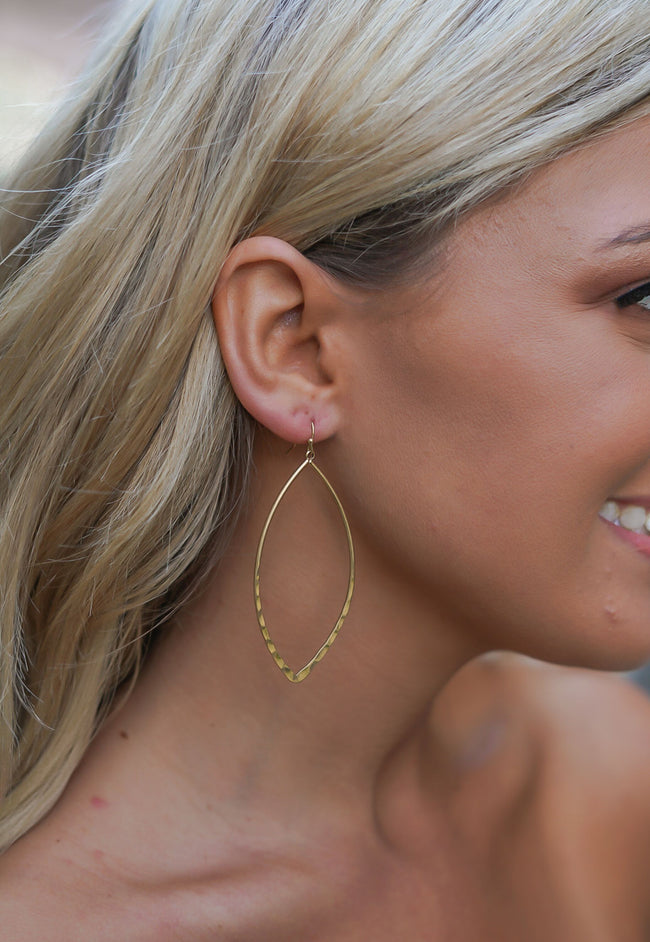 Hammertime Earrings - Gold