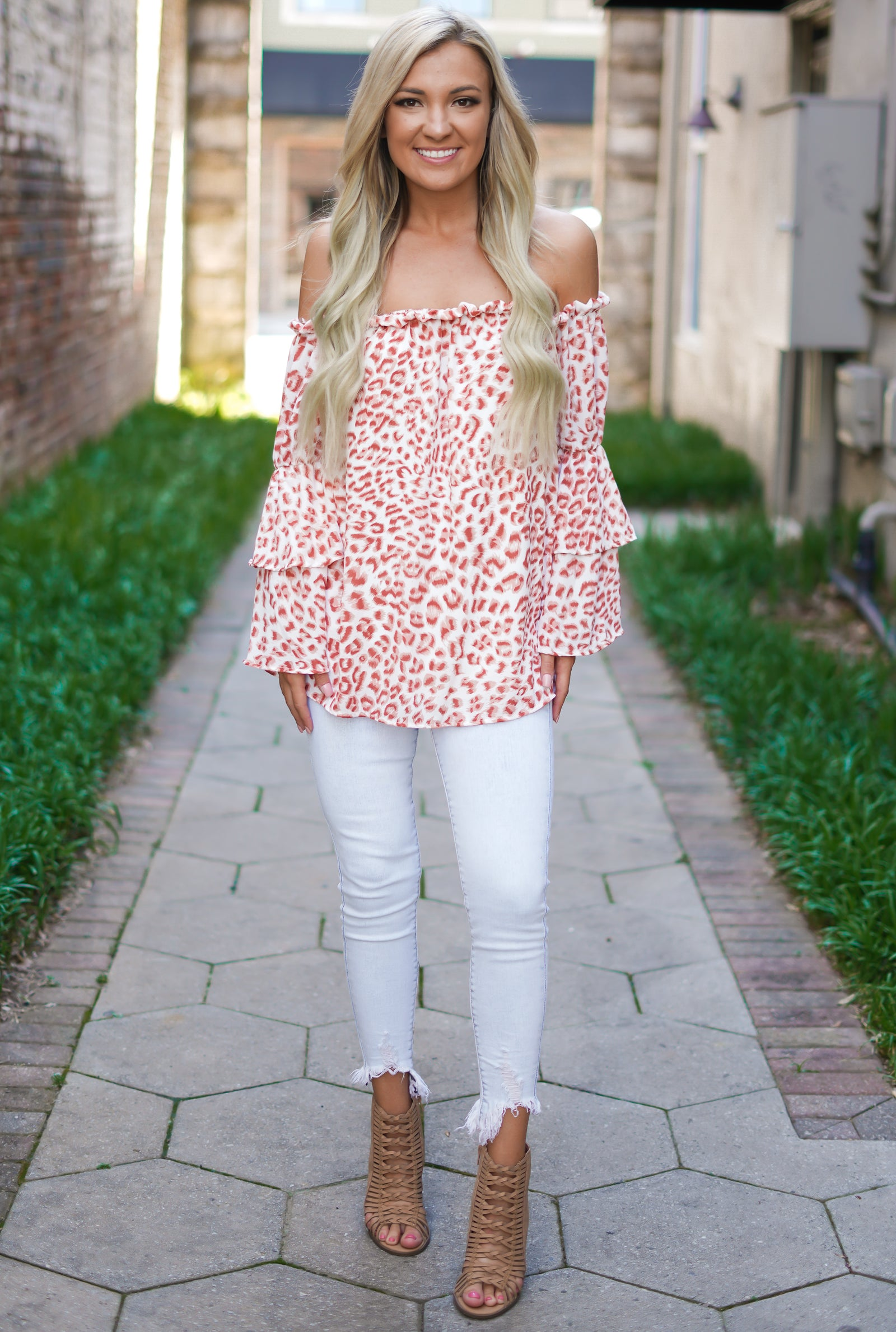 No Limit Leopard Top
