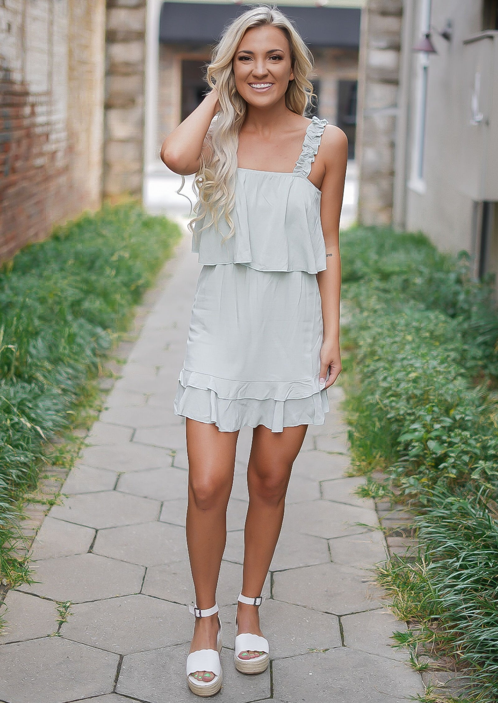Sage Sweetie Dress