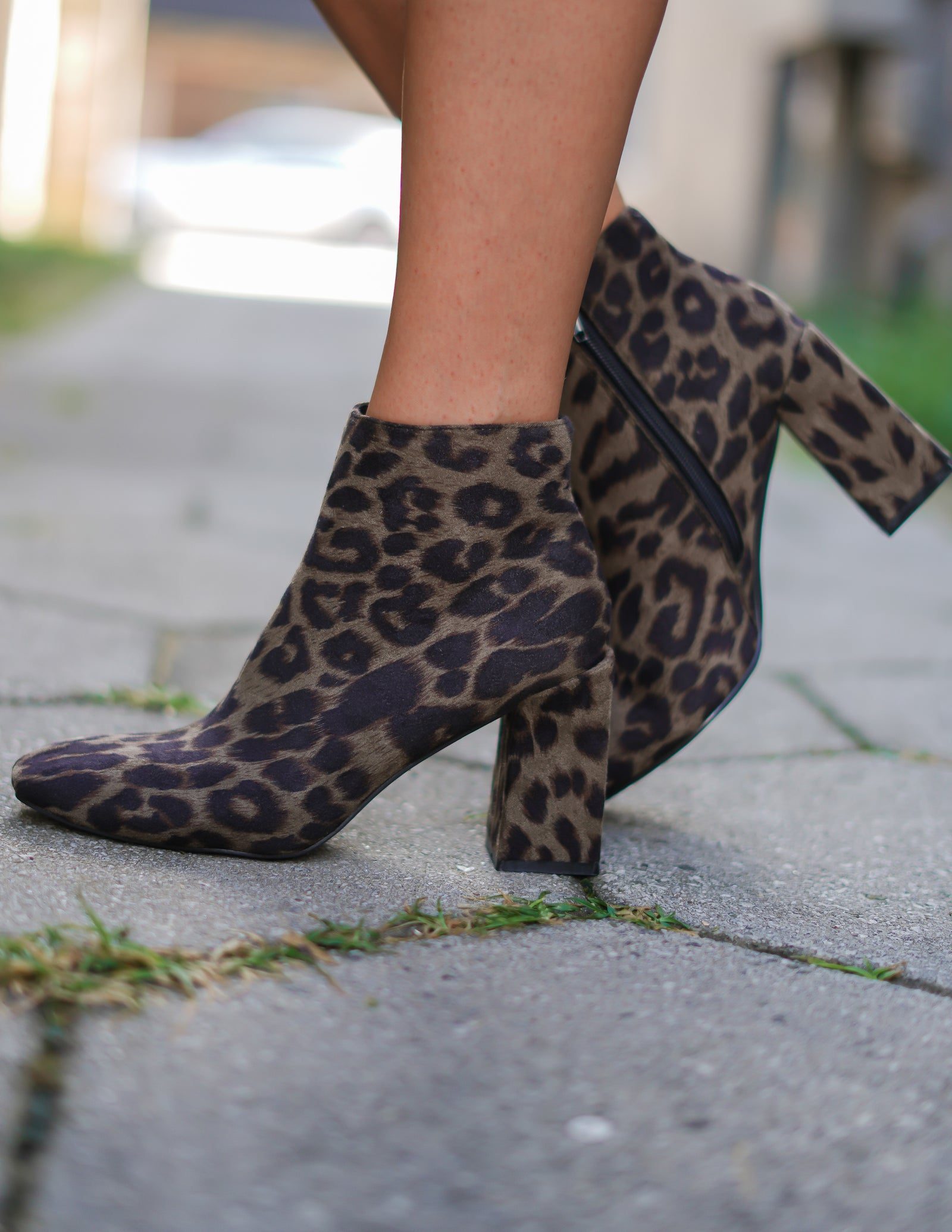 Evolve Leopard Booties