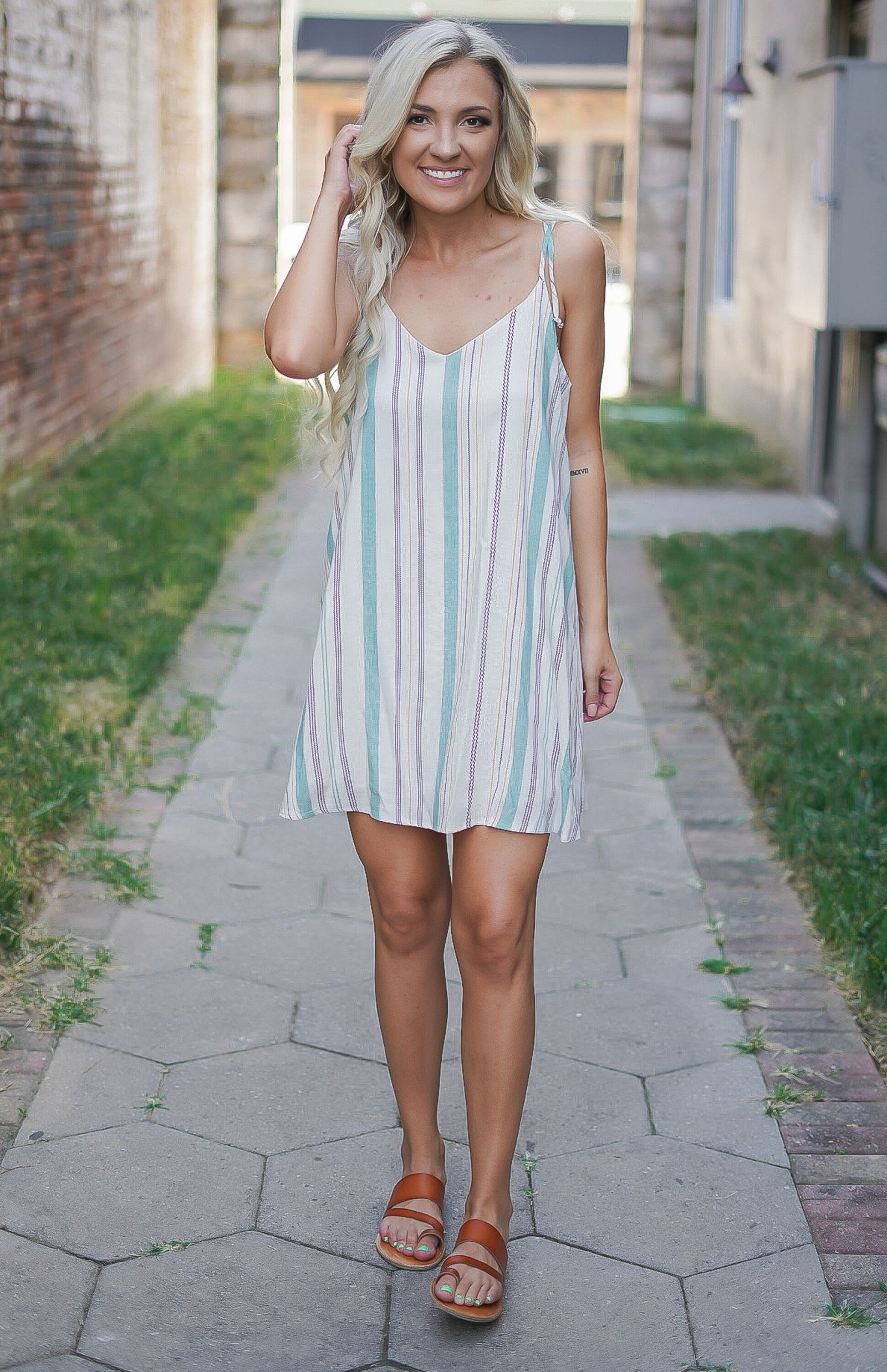 Sugar Striped Dress