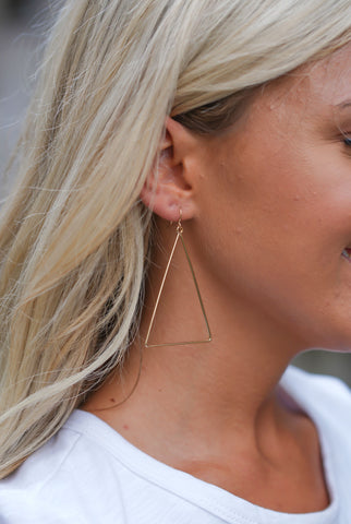 Gold Chaser Earrings