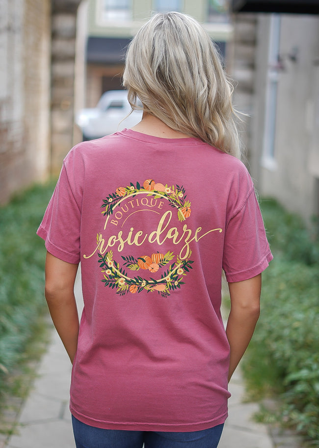 Fall Floral Pumpkin Logo - Limited Edition