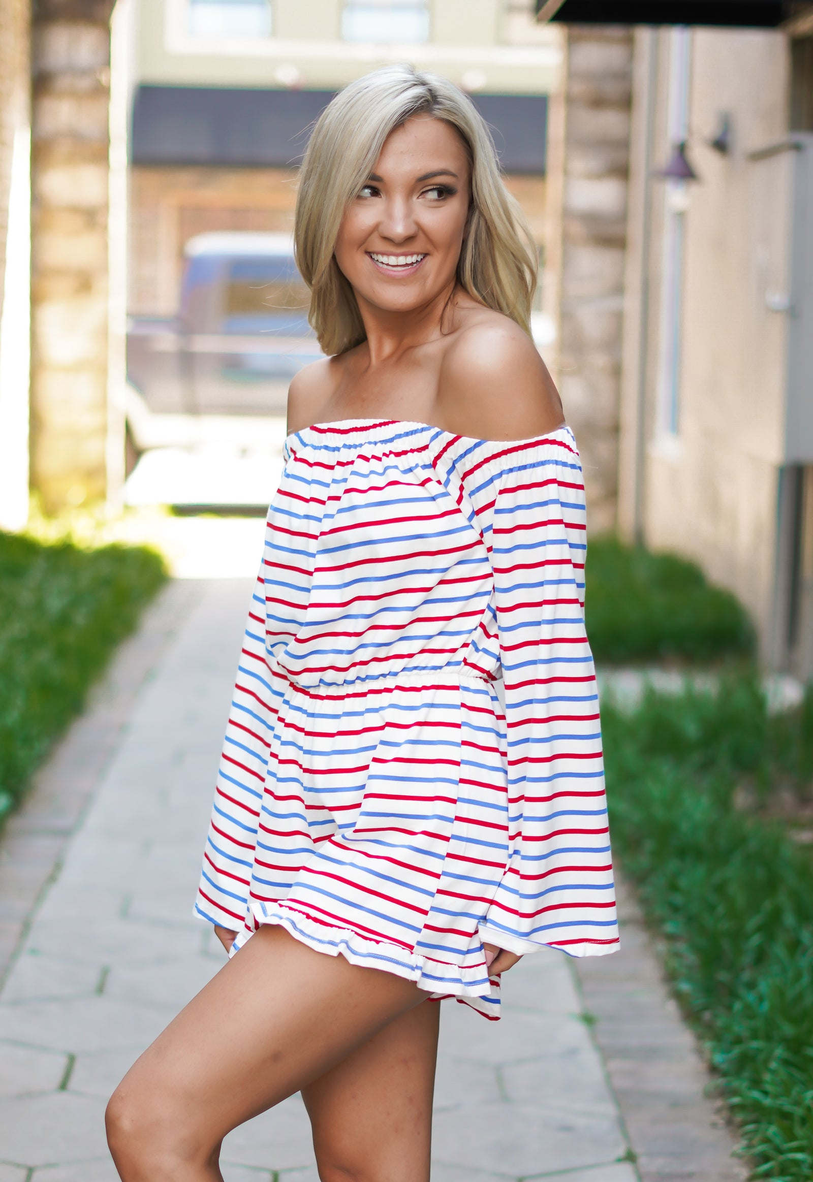 Old Glory Romper