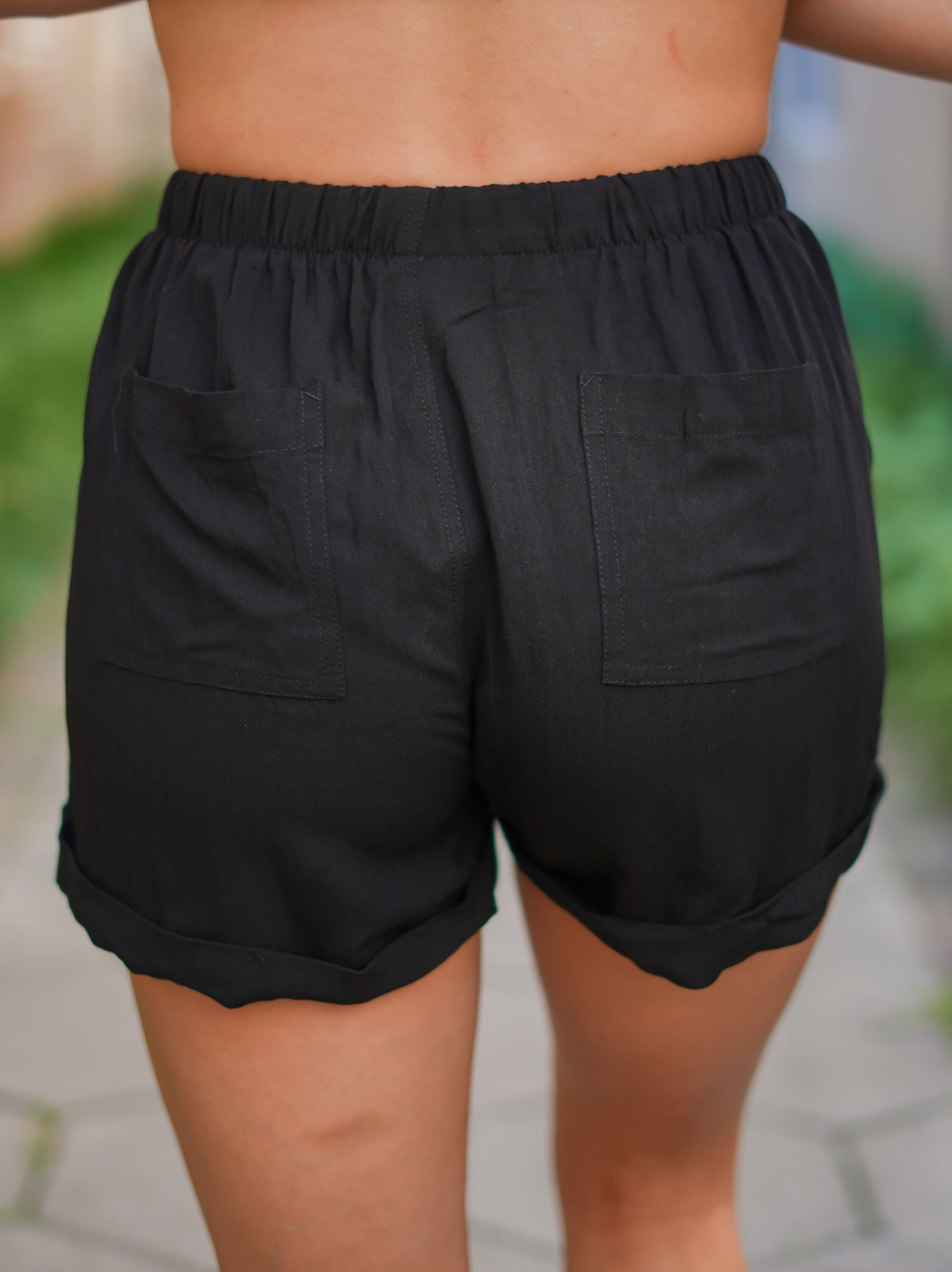 Run Around Shorts - Black