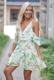 Paradise Ruffle Dress