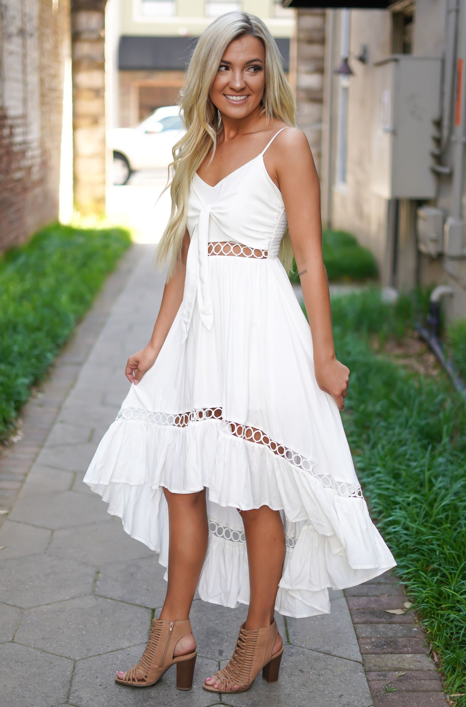 White Pearl Dress